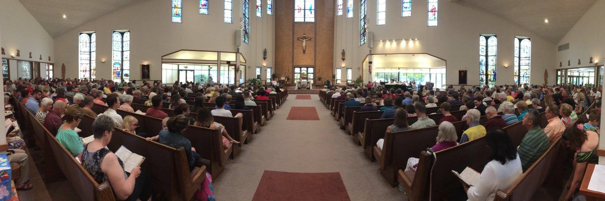 Saint Lucy Catholic Church | Faith in Action